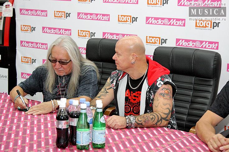 Uriah Heep в Media Markt и концерт в Crocus City Hall!
