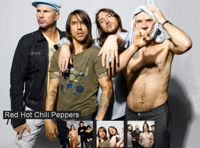 Легенда: «THE RED HOT CHILI PEPPERS»